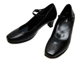 【あす楽】アシックス ペダラ asics Pedala WP162T ワイズE ストラップパンプス ブラック レディース 靴