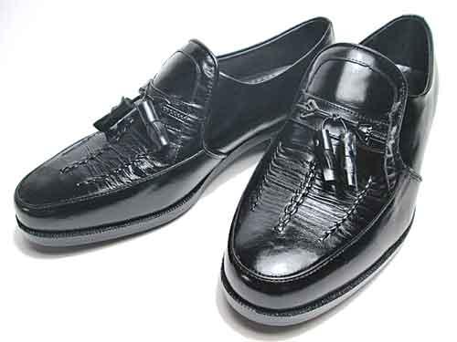 【あす楽】【送料無料】エクセルクラブ EXCEL CLUB ビジネスシューズ タッセル スリッポン ブラック【メンズ・靴】