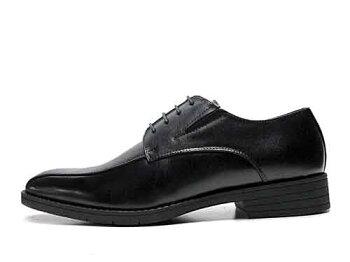 【あす楽】ハイブリットウォーカーHYBRIDWALKERスワールモカレースアップシューズビジネスシューズブラックメンズ靴