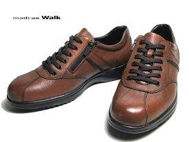【あす楽】マドラスウォーク madras Walk MW8010 防水 ゴアテックス カジュアルシューズ ライトブラウン メンズ 靴