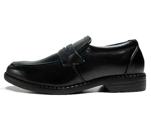 【あす楽】スタークレスト STAR CREST ビジネスシューズ スリッポン ローファー 防水仕様 ブラック【メンズ・靴】