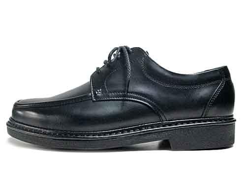 【あす楽】【送料無料】リナシャンテ バレンチノ Rinescante Valentiano ビジネスシューズ Uチップ レースアップシューズ ブラック【メンズ・靴】