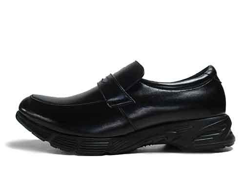 【あす楽】1957 Speed Walker-Run&Walk Biz ラン&ウォークビズ ウォーキングビジネス スリッポン ブラック【メンズ・靴】