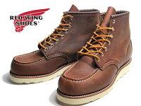 【あす楽】レッドウィングシューズREDWINGSHOESクラシックワーク6インチモックトゥメンズ靴