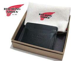 【あす楽】RED WING レッドウィング カードホルダー 名刺入れ ブラック メンズ アクセサリー
