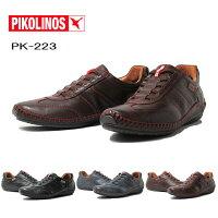 【あす楽】ピコリノスPIKOLINOSPK223ドライビングスニーカースリッポンメンズ靴