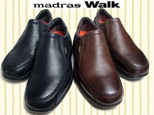 【あす楽】【送料無料】マドラスウォーク madras Walk ウォーキングシューズ ゴアテックス フットウェア 防水 防滑 ワイズ4E【メンズ・靴】