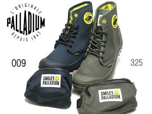 【あす楽】パラディウム PALLADIUM PAMPA SMILEY FEST BAG ミニポーチ付き メンズ レディース 靴