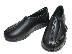 【あす楽】 アサヒシューズ 快歩主義 M900 面ファスナーシューズ ブラックスムース メンズ 靴