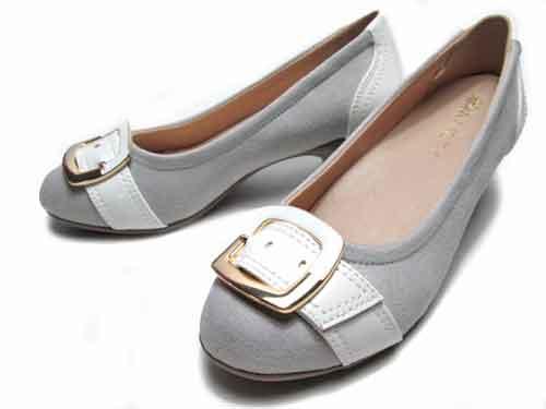 【あす楽】ALL DAY Walk オールデイウォーク パンプスなのに歩きやすい パンプス×スニーカー ライトグレー【レディース・靴】