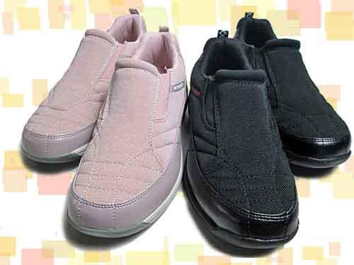 【あす楽】マイスニーカー My sneaker 撥水スリッポンスニーカー【レディース・靴】