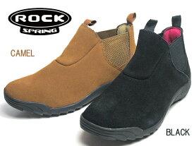 【あす楽】ロックスプリング ROCK SPRING RS-222 カジュアルサイドゴアブーツ レディース 靴