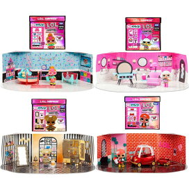 【国内販売正規品】 L.O.L. エルオーエル サプライズ ! ファニチャーセット シリーズ1 全4種 おもちゃ 送料無料