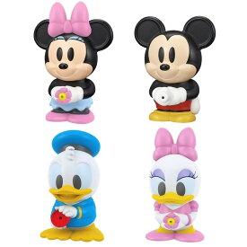 ぷくぷくフレンズ ディズニー ミッキー & ミニー & ドナルド & デイジー 4点セット おもちゃ 送料無料