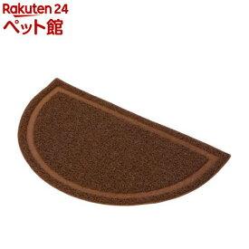 ペティオ ネココ 猫トイレマット ブラウン(1枚入)【necoco(ネココ)】[爽快ペットストア]