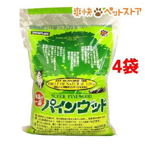 猫砂 パインウッド(6L*4コセット)【送料無料】[爽快ペットストア]