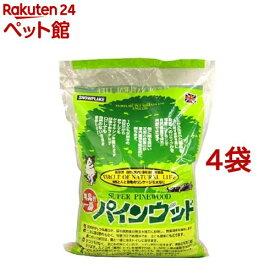 猫砂 パインウッド(6L*4コセット)[爽快ペットストア]