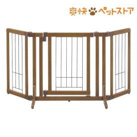 リッチェル ペット用木製おくだけドア付きゲート Sサイズ(1台)[爽快ペットストア]