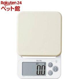 タニタ デジタルクッキングスケール ホワイト KJ-212-WH(1台)【タニタ(TANITA)】[爽快ペットストア]