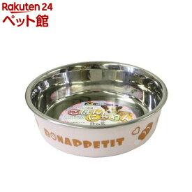 ドギーマン ステンレス食器ごはんにゃわん 犬用 Sサイズ ピンク(1コ入)【ドギーマン(Doggy Man)】[爽快ペットストア]