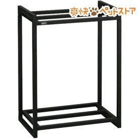 45cm水槽用 組立2段台 ブラック(1コ入)[爽快ペットストア]