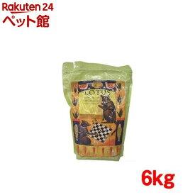 ロータス シニア チキン レシピ 中粒(6kg)【ロータス】[ドッグフード][爽快ペットストア]
