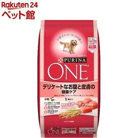 ピュリナワン ドッグ デリケートなお腹と皮膚の健康ケア(4.2kg)【dalc_purinaone】【qqs】【qqw】【nd09_nestle】【ピュリナワン(PURINA ONE)】[ドッグフード][爽快ペットストア]