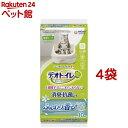 デオトイレ ふんわり香る消臭・抗菌シート ナチュラルガーデンの香り(10枚入*4袋セット)【d_ucc】【dalc_deotoiletshe…