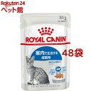 フィーライン ヘルス ニュートリション ウェット インドア ローフ(85g*48袋セット)【ロイヤルカナン(ROYAL CANIN)】[…