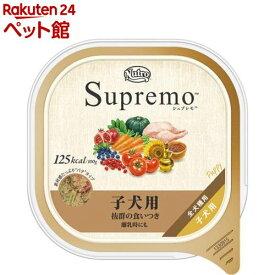シュプレモ カロリーケア 子犬用トレイ(100g)【シュプレモ(Supremo)】[ドッグフード][爽快ペットストア]