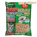 猫砂 クリーンミュウ 国産天然ひのきのチップ 3.5L(3.5L)[猫砂 ねこ砂 ネコ砂 ひのきチップ ヒノキ ペレット][爽快ペ…