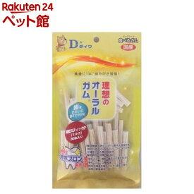 オーラルガム 桜型スティックP ミルク(30本入)[爽快ペットストア]