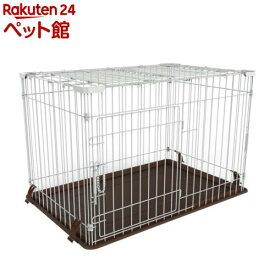 マルカン ドッグフレンドルーム 天面フェンス付(1台)[爽快ペットストア]