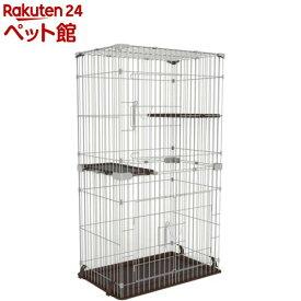 マルカン キャットフレンドルーム スリム 2段(1台)[爽快ペットストア]
