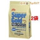 スーパーゴールド フィッシュ&ポテト ダイエットライト 体重管理用(2.4kg*2コセット)【スーパーゴールド】【送料無料…