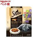 シーバ デュオ 魚介とお肉のチーズ味セレクション(20g*12袋入)【d_shea】【dalc_sheba】【シーバ(Sheba)】[キャットフ…