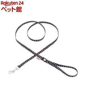 ペティオ アルファッション ハートドットリード XS SS ブラック(1コ入)【アルファッション(ARFashion)】[爽快ペットストア]