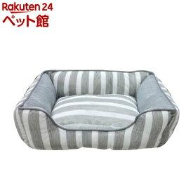 スクエアベッド SB-97 S グレー(1個)【adorable pets(アドラブルペッツ)】[爽快ペットストア]