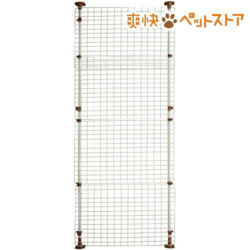 マルカン 猫網戸脱走防止フェンス Lサイズ(1コ入)[爽快ペットストア]
