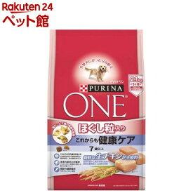 ピュリナワン ドッグ ほぐし粒入り 7歳以上 これからも健康ケア チキン(2.1kg)【d_dogfood】【d_one】【dalc_purinaone】【qqs】【qqw】【nd09_nestle】【ピュリナワン(PURINA ONE)】[ドッグフード][爽快ペットストア]