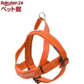イージードッグ クイックハーネス M オレンジ(1個)【イージードッグ】[爽快ペットストア]