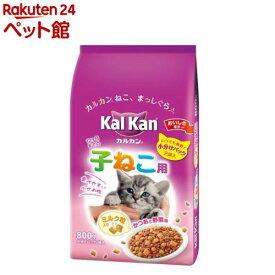 カルカン ドライ かつおと野菜味 ミルク粒入り 子ねこ用(800g)【d_kal】【カルカン(kal kan)】[キャットフード][爽快ペットストア]