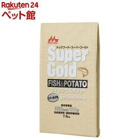 スーパーゴールド フィッシュ&ポテト 子犬・成犬用(7.5kg)【スーパーゴールド】[ドッグフード][爽快ペットストア]