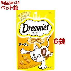 ドリーミーズ チーズ味(60g*6コセット)【d_dream】【ドリーミーズ】[爽快ペットストア]