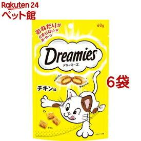 ドリーミーズ チキン味(60g*6コセット)【d_dream】【ドリーミーズ】[爽快ペットストア]