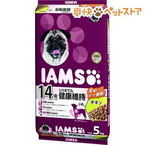 アイムス 14歳以上用 いつまでも健康維持 チキン 小粒(5kg)【iamsd14265】【アイムス】[爽快ペットストア]