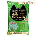 おからの猫砂 緑玉 大粒(6L)[爽快ペットストア]