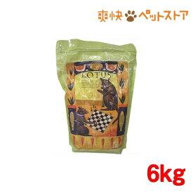 ロータス シニア チキン レシピ 中粒(6kg)【ロータス】[爽快ペットストア]