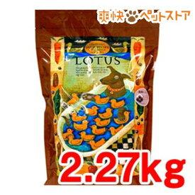 ロータス グレインフリー ダックレシピ 小粒(2.27kg)【ロータス】[爽快ペットストア]
