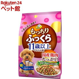 ビタワン もっちりふっくら 11歳以上 チキン・野菜入り(840g)【ビタワン】[ドッグフード][爽快ペットストア]